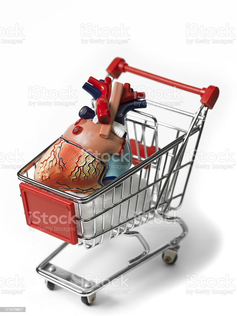 Buying and selling of organs royalty-free stock photo
