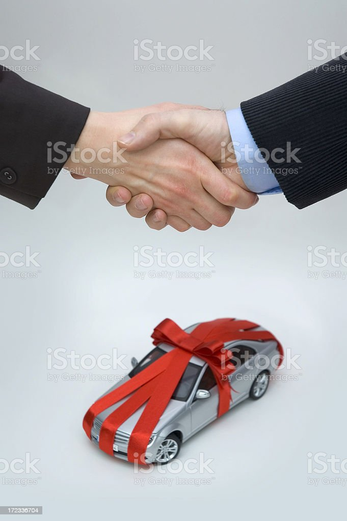 Buying Brand New Car Concept royalty-free stock photo