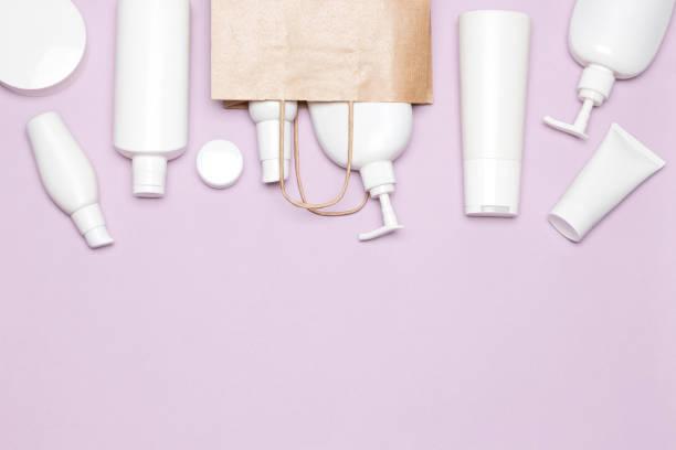 Achat concept cosmétique avec espace copie - Photo