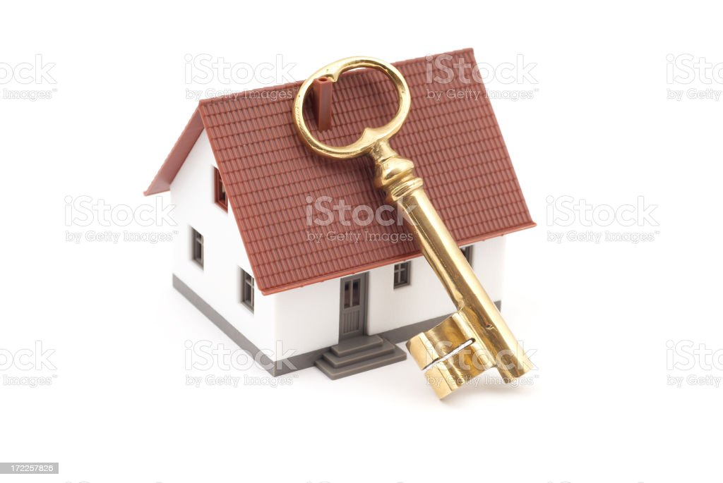 Buying Home royalty-free stock photo