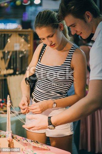 istock Buying Jewellery At Queen Victoria Market 699949894