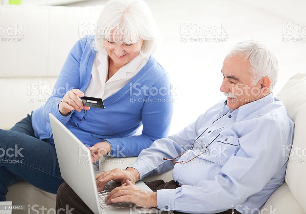 Buying on-line. royalty-free stock photo