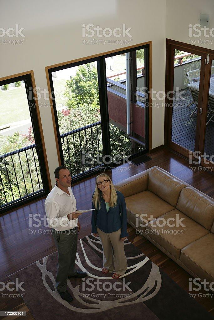 Buying Real Estate royalty-free stock photo