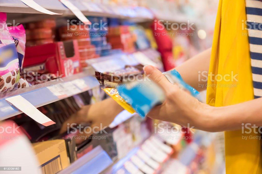 Kauf Süßigkeiten – Foto