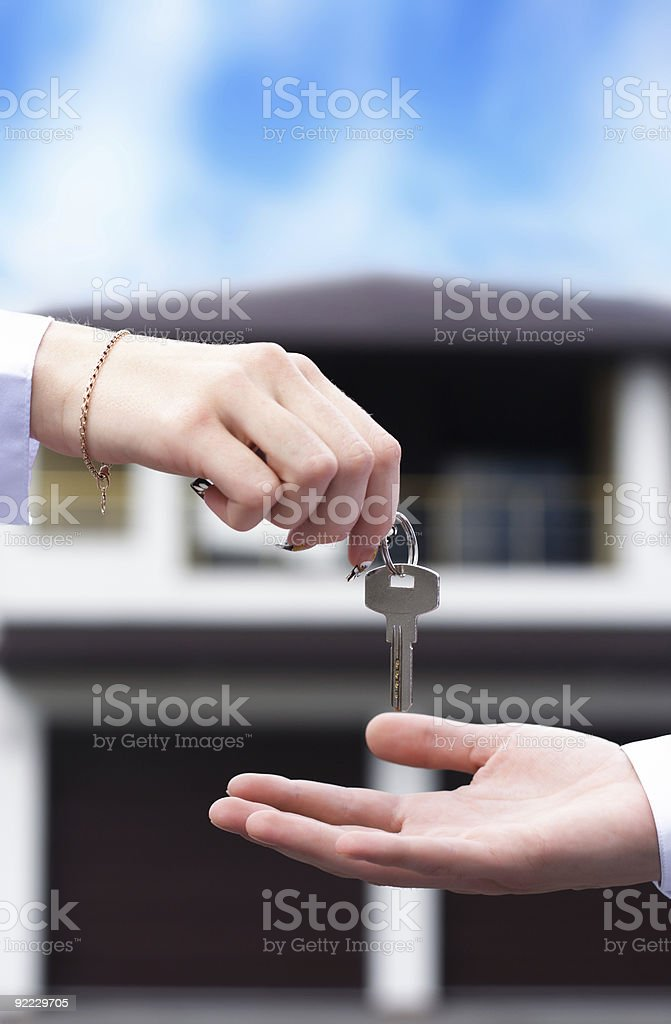 Buying the New House Concept royalty-free stock photo