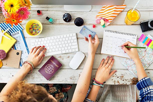 Buying Ticket Planning Agenda Travel Concept - Photo