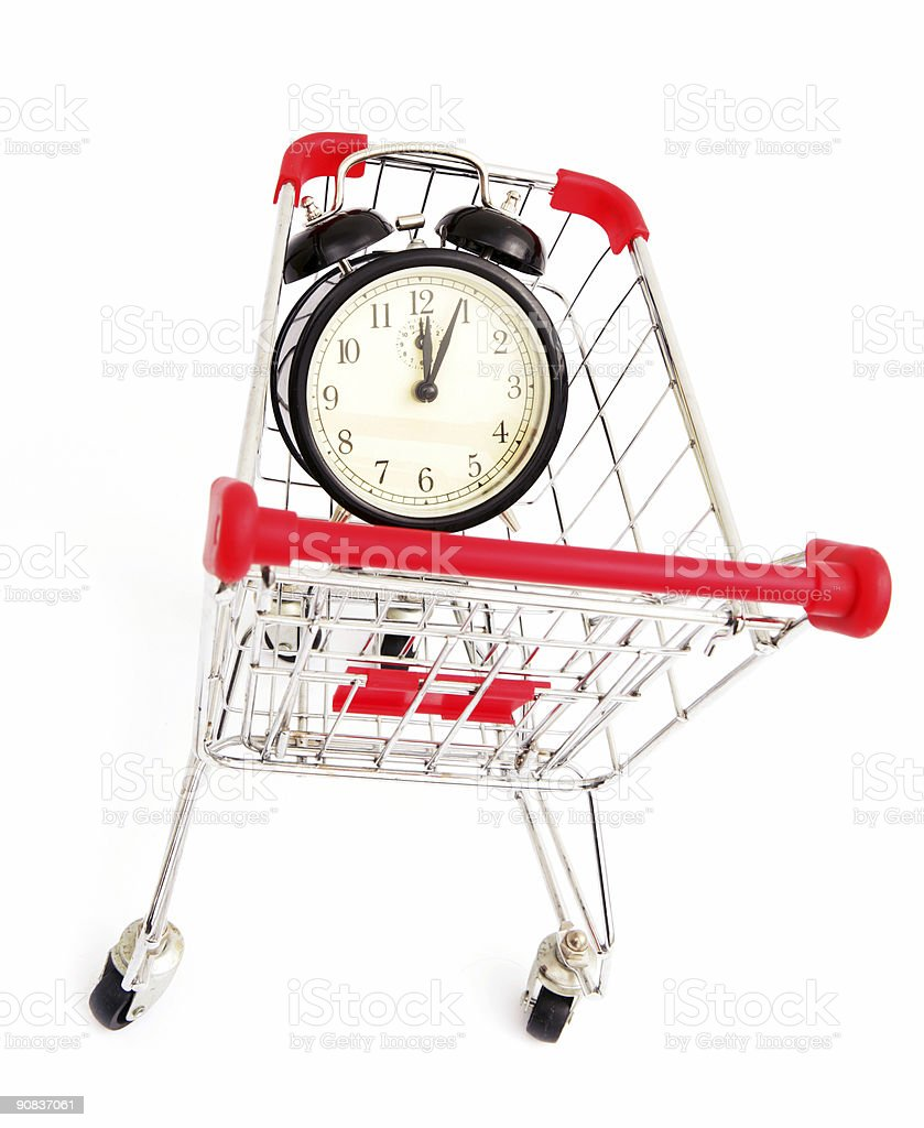 Buying Time royalty-free stock photo