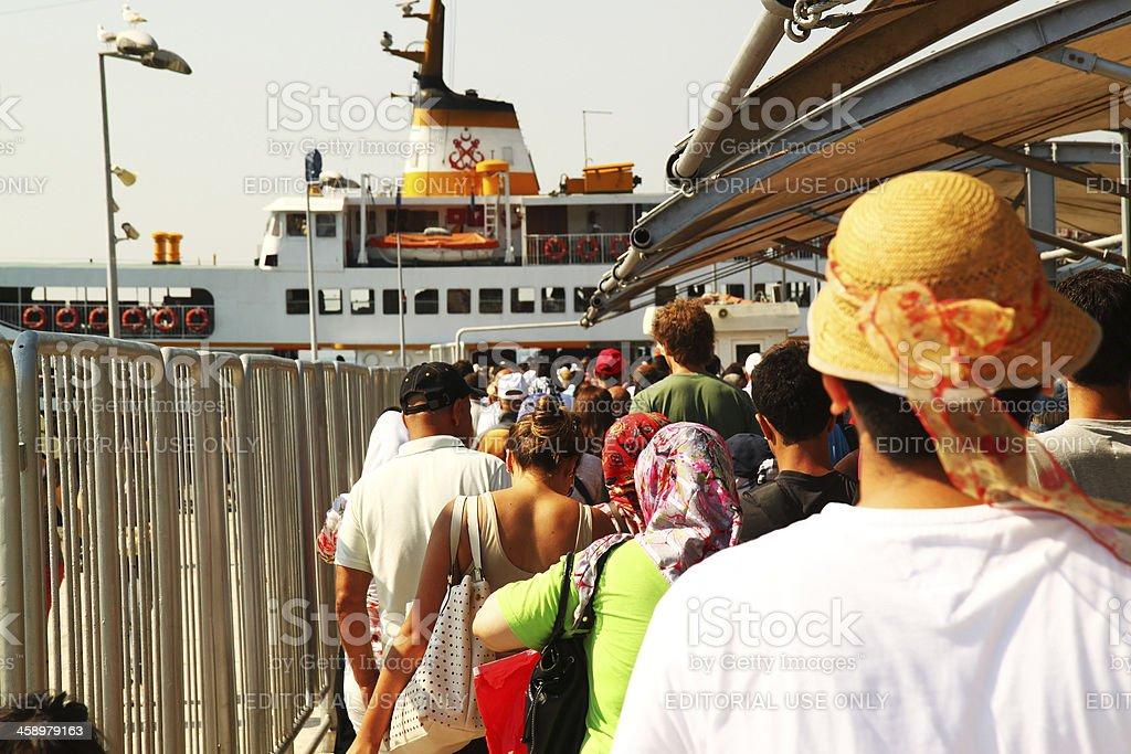 buyukada,istanbul royalty-free stock photo