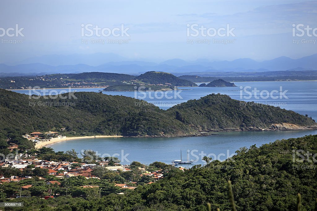 buzios brazil stock photo