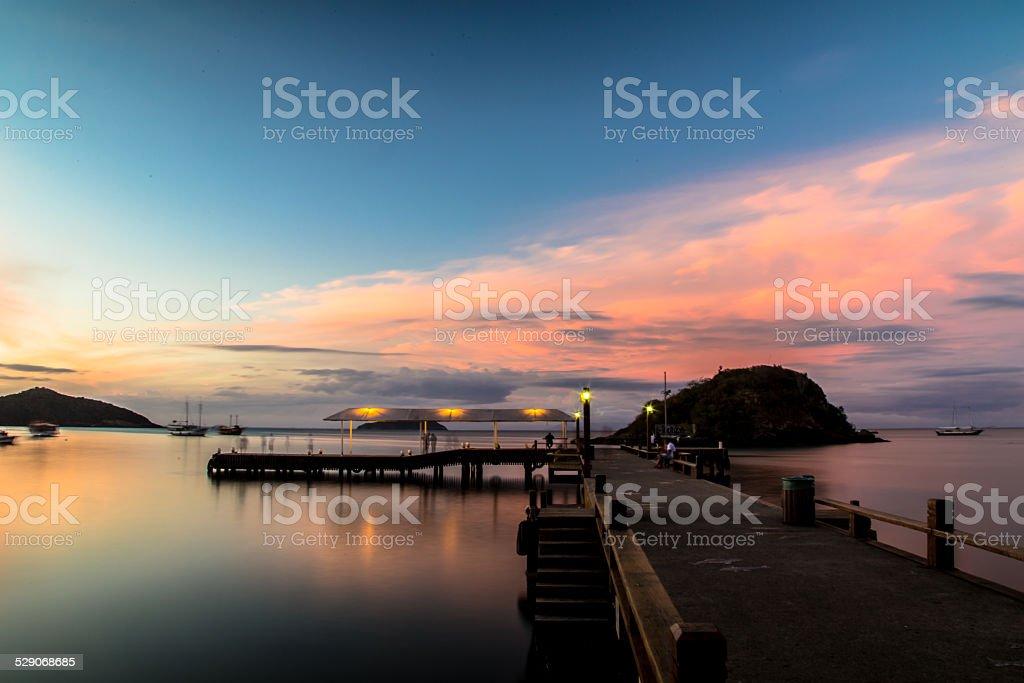 Buzios Docks stock photo
