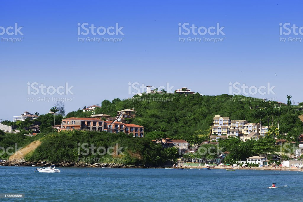 Buzios - Joao Fernandes Beach stock photo