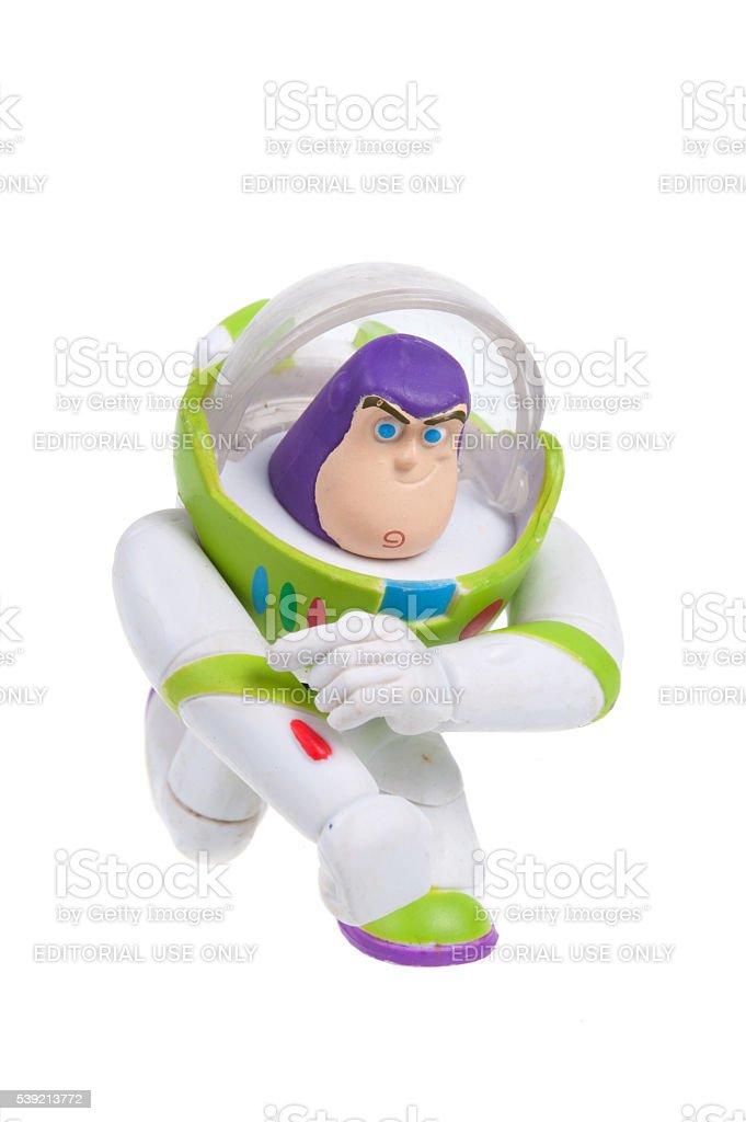 Buzz Lightyear Action Figure stock photo