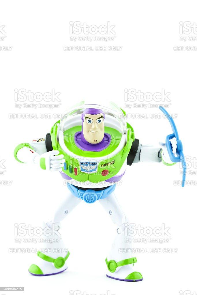Buzz Lightyear from Toy Story stock photo