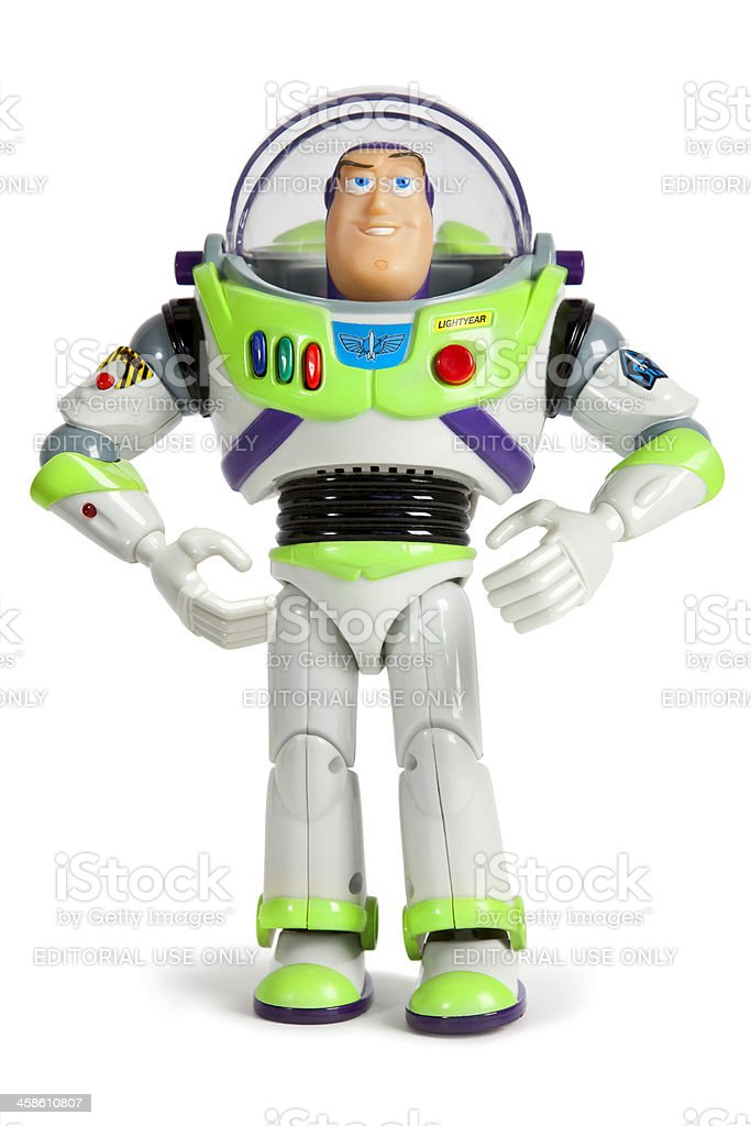 Buzz Lightyear Space Ranger Toy Story stock photo