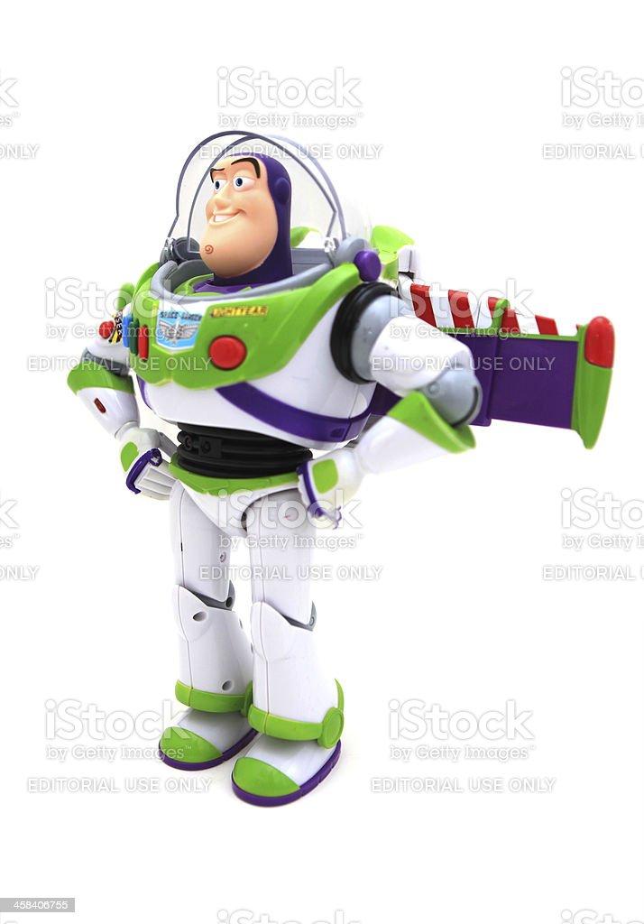 Buzz Lightyear Toy stock photo