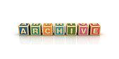 istock ARCHIVE Buzzword Cubes - 3D Rendering 1070977942