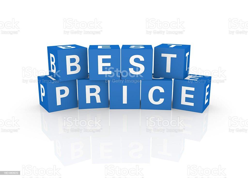 Cubos palabra de moda: Mejor precio foto de stock libre de derechos