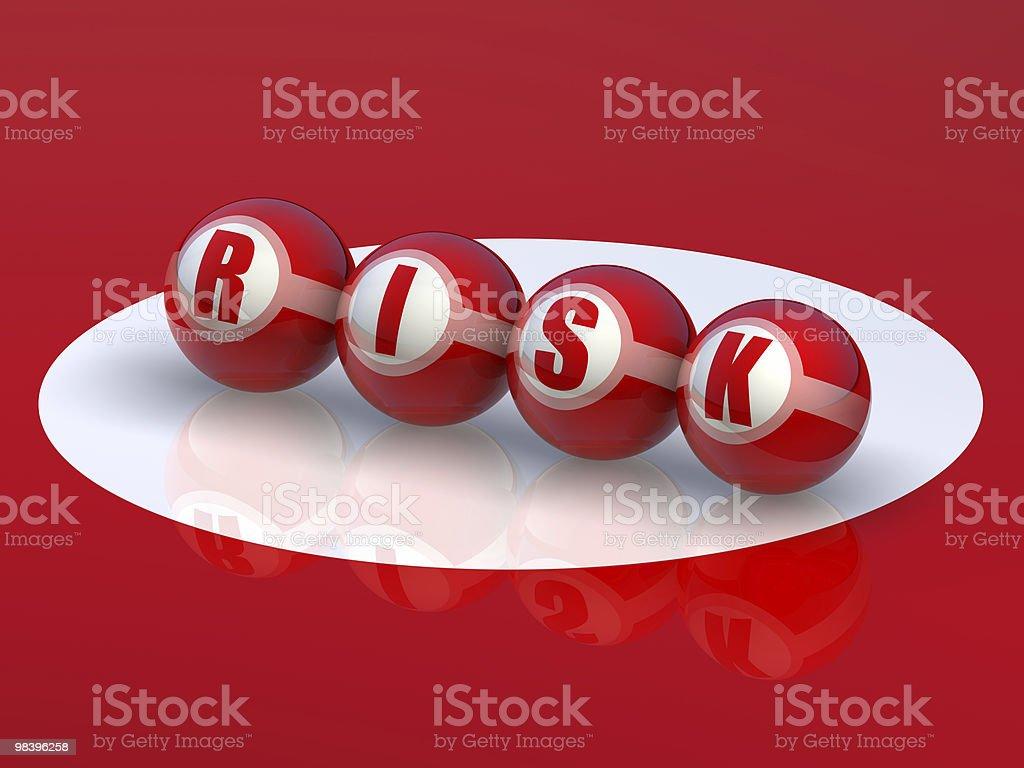Buzzword Risk royalty-free stock photo