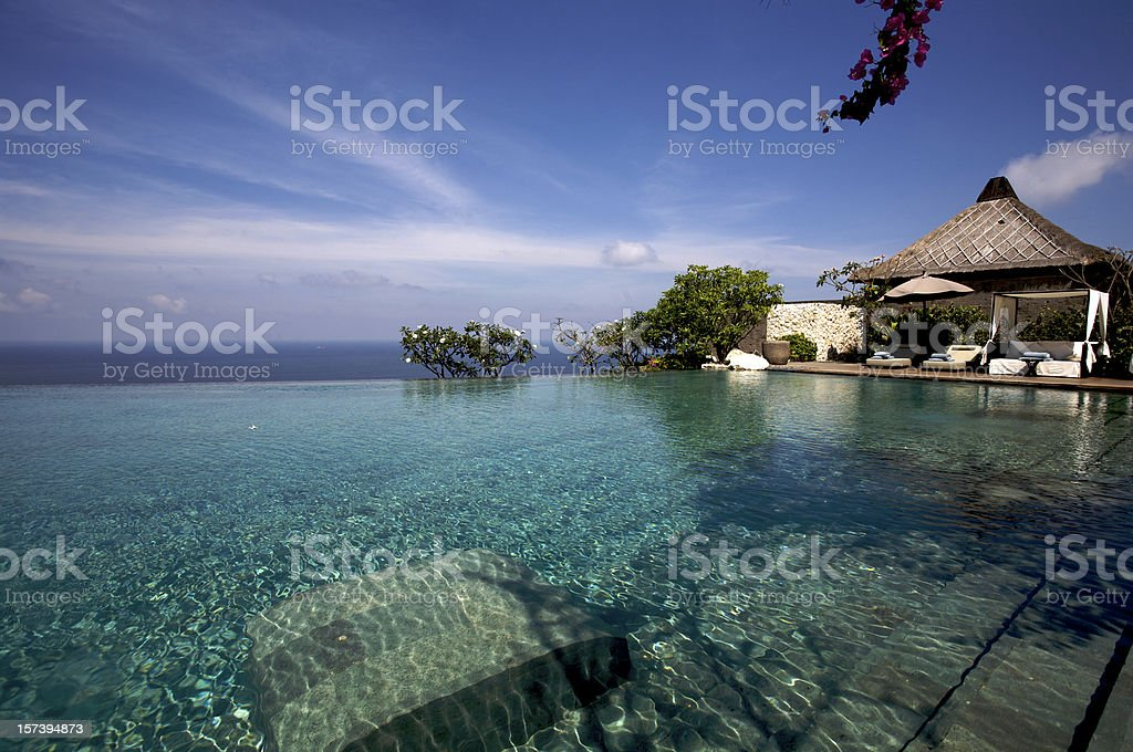 Bvlgari Luxury Resort on Bali stock photo