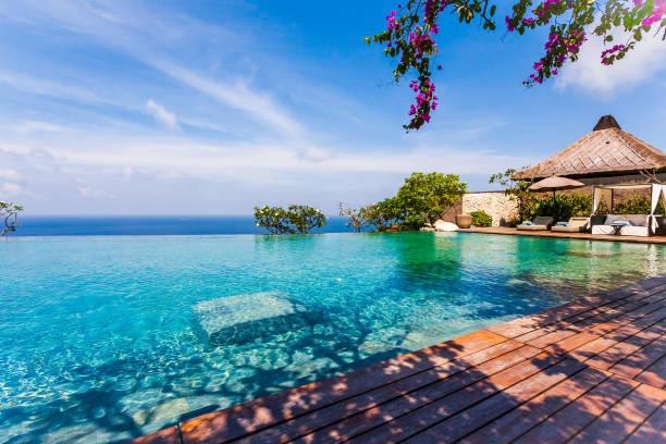 Bvlgari Luxury-Resort at Bali stock photo