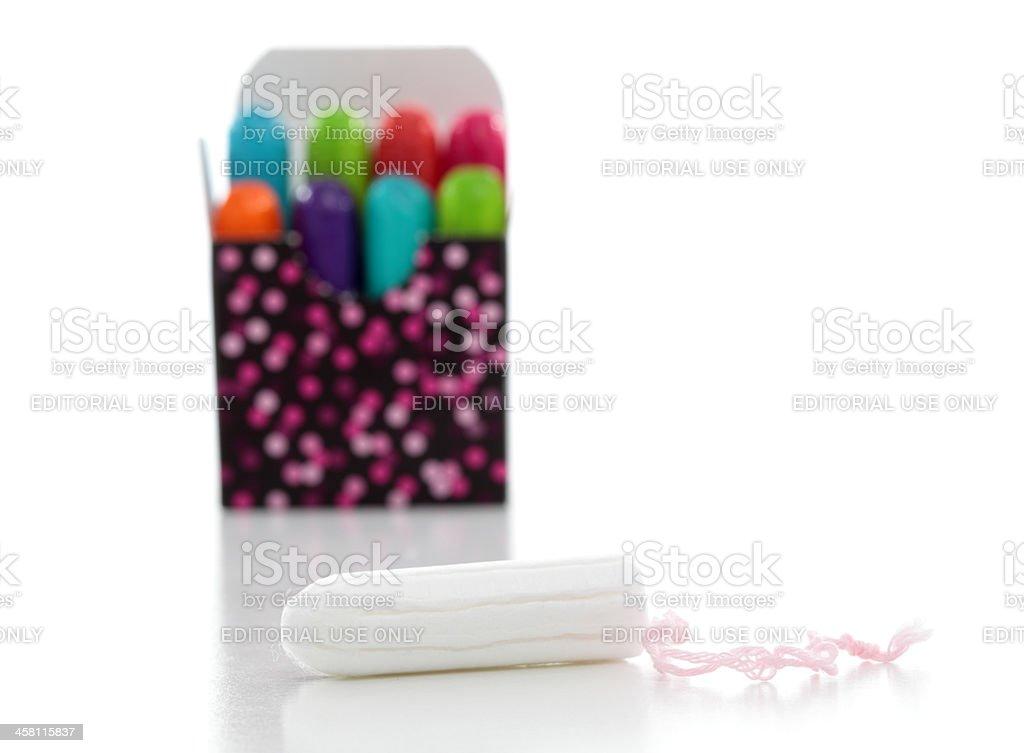 U by Kotex coloured tampons