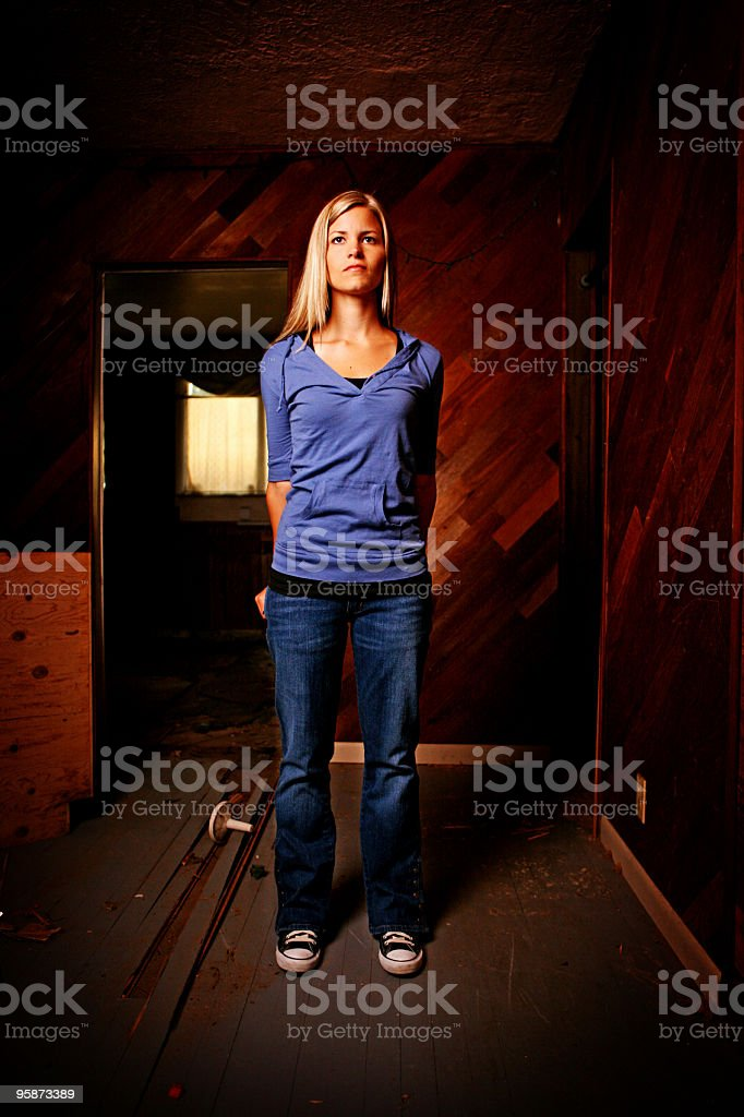 by my self royalty-free stock photo