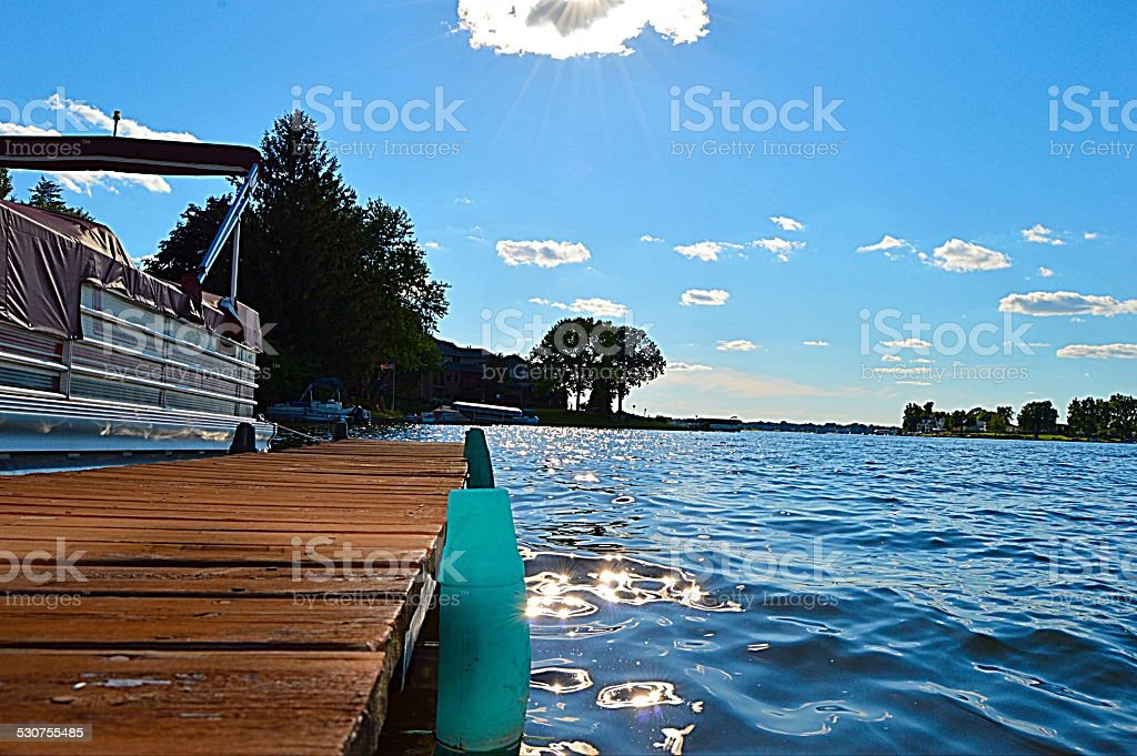 Au bord du ponton - Photo