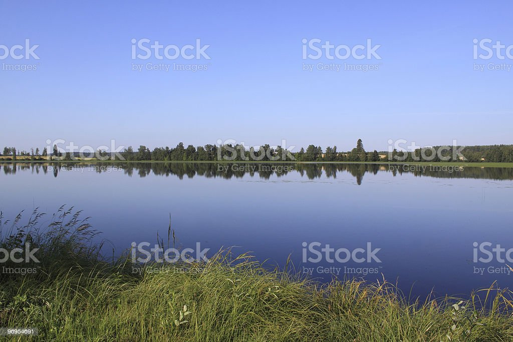 By the Lake in Finland royalty-free stock photo