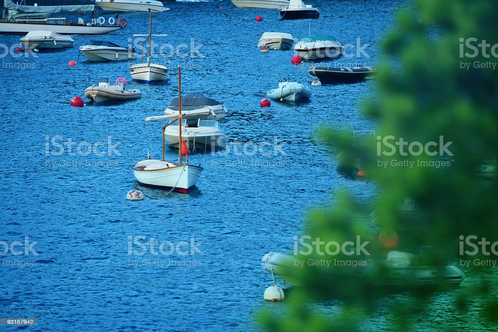 By the Mediterranean royalty-free stock photo