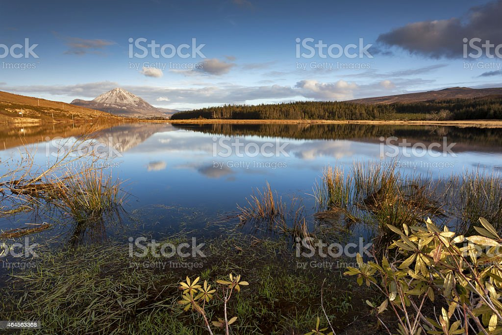 By the Mighty Errigal stock photo
