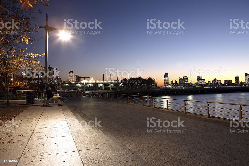 by the river. royalty-free stock photo