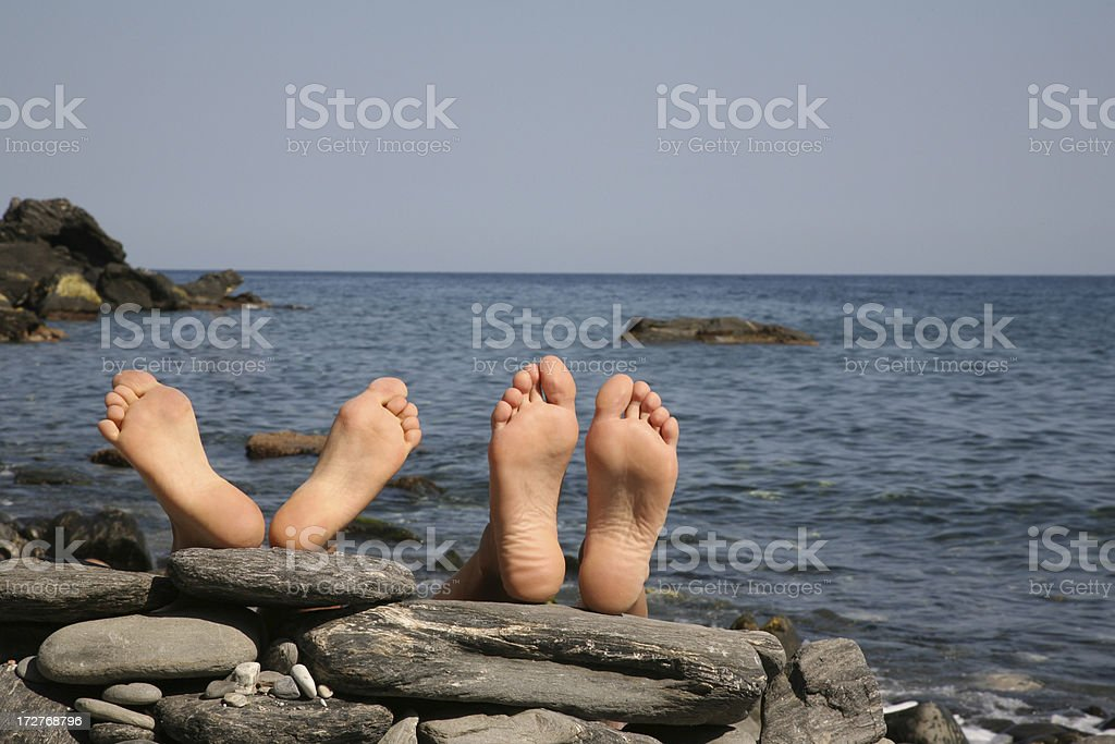 Am Meer royalty-free stock photo