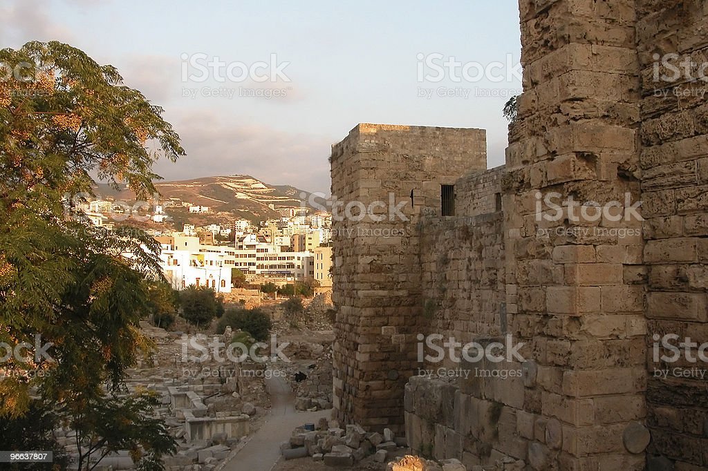Byblos in Beirut. stock photo