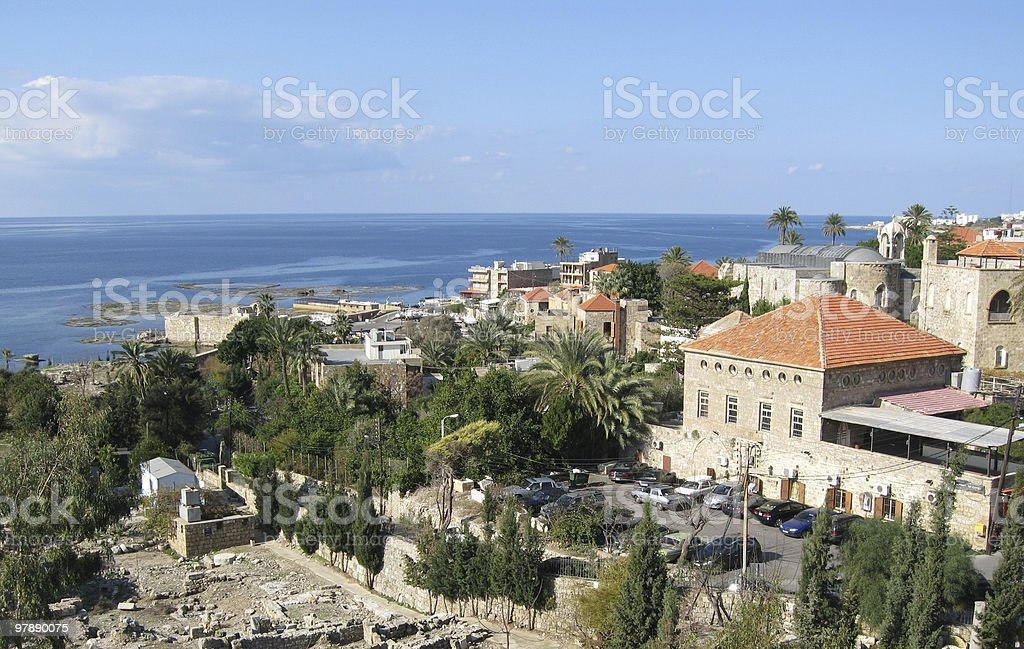 Byblos, Lebanon royalty-free stock photo