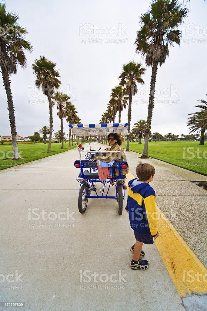 Bycycle Cart royalty-free stock photo