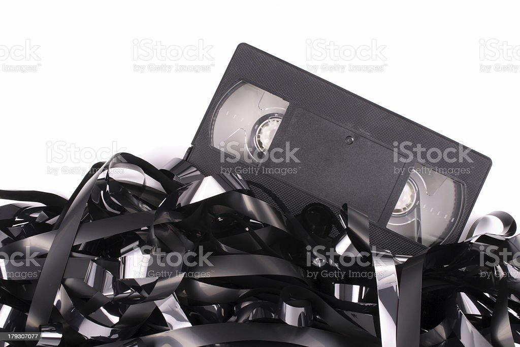 Bye tape royalty-free stock photo
