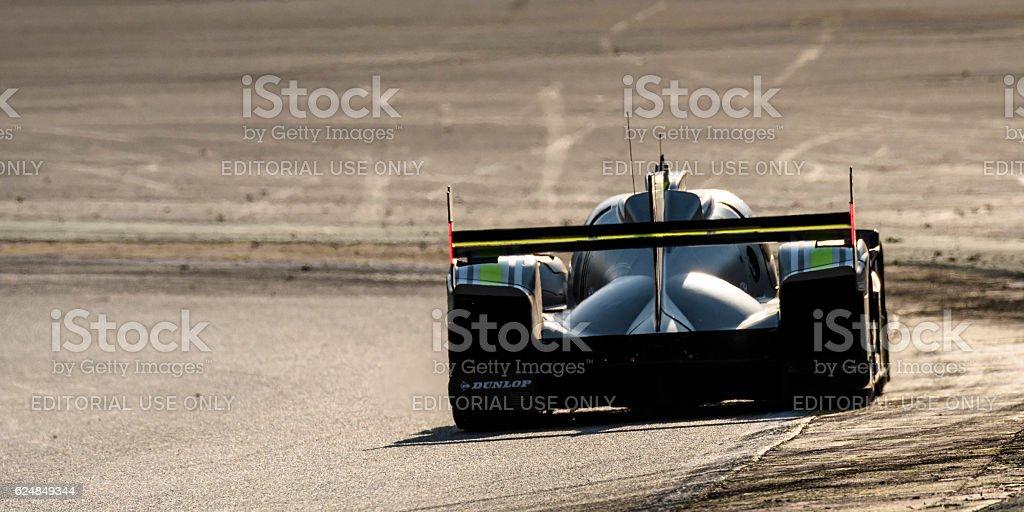 ByKOLLES Racing CLM P1/01 AER LMP2 racing car stock photo