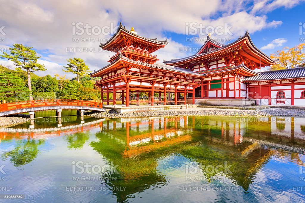 Byodoin Temple in Japan stock photo
