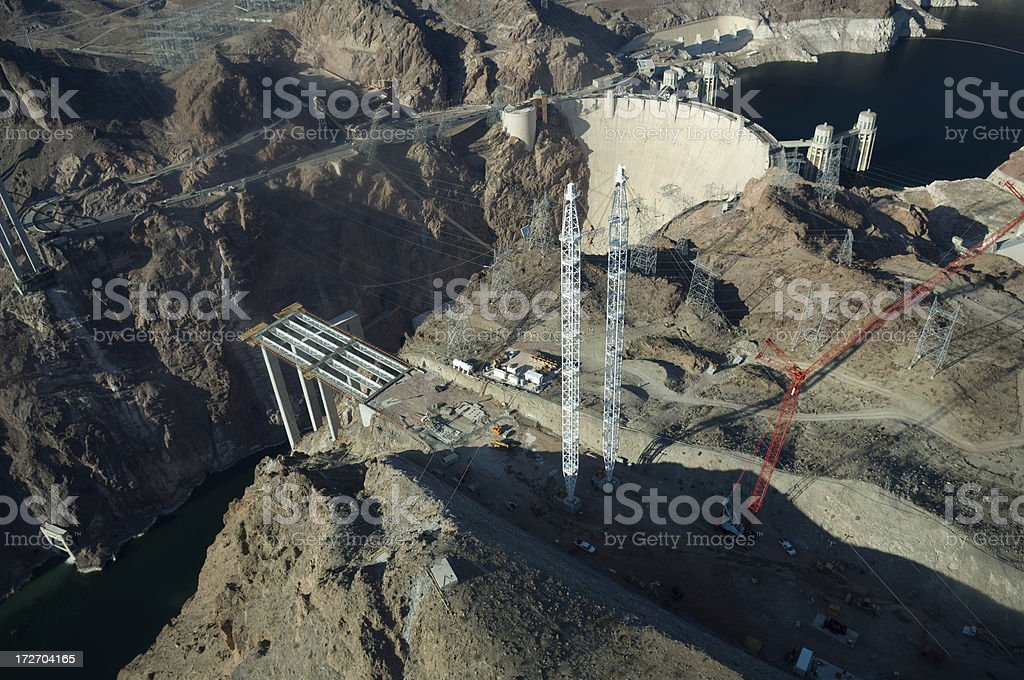 US 93 Bypass Construction East royalty-free stock photo