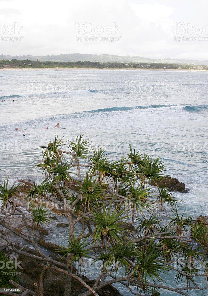 byron bay surf royalty-free stock photo