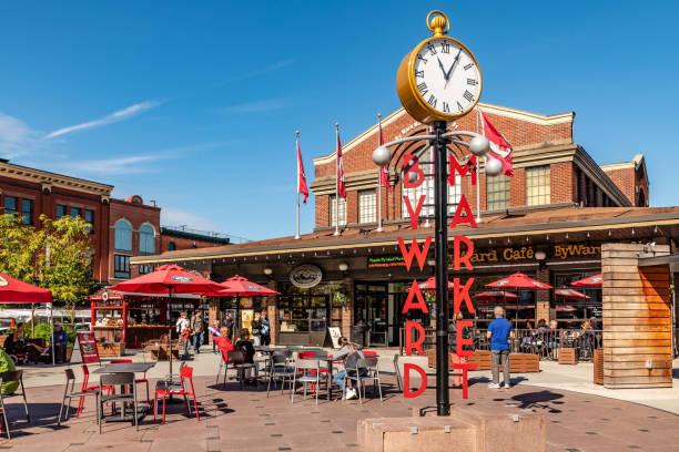 Byward Market in Ottawa stock photo