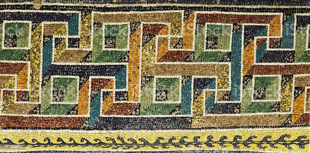 Byzantine mosaïc (Ravenna,Italy) stock photo