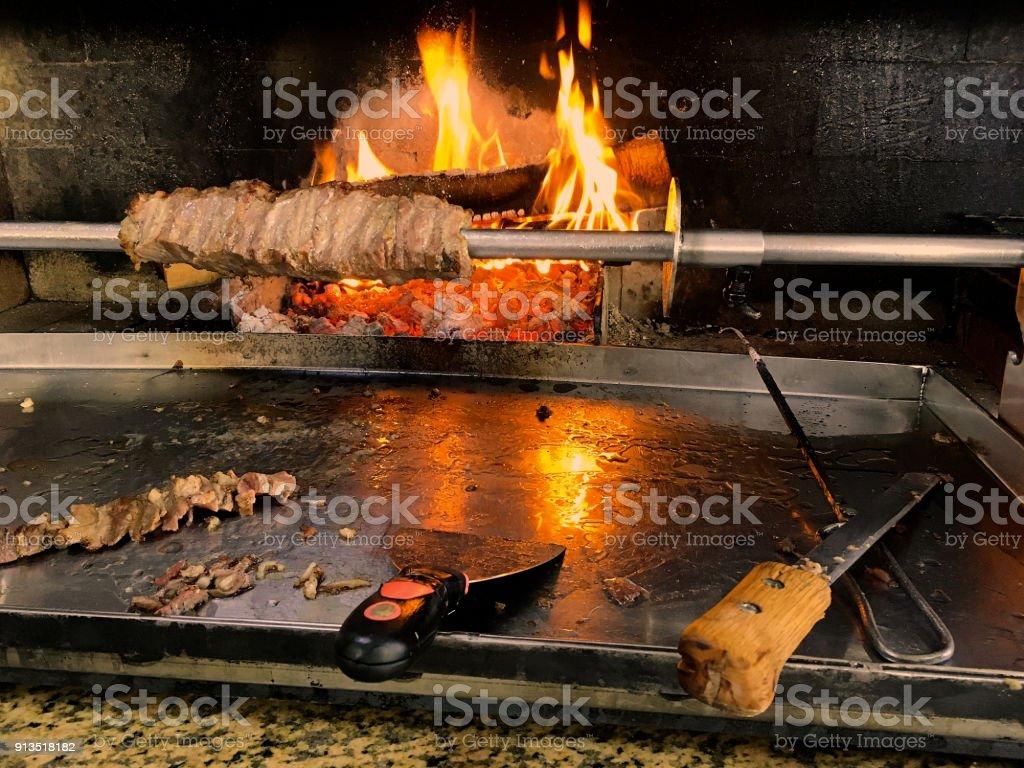 Cağ Kebap,Turkish Kebab stock photo