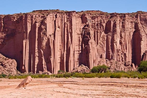 Cañón, Talampaya National Park, Argentina stock photo