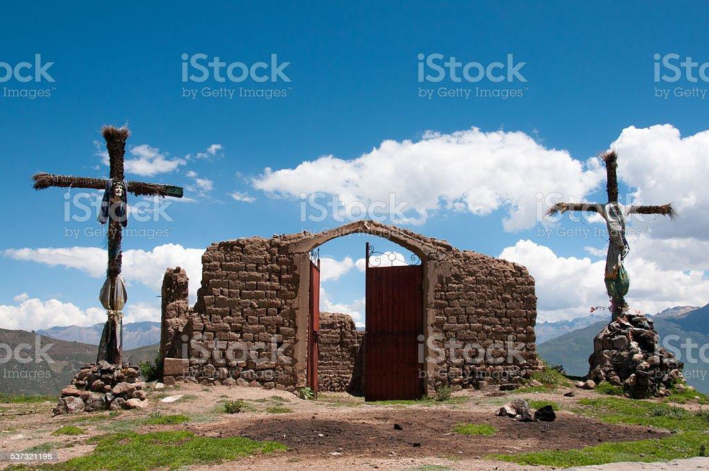 Cabanaconde, Colca Canyon stock photo