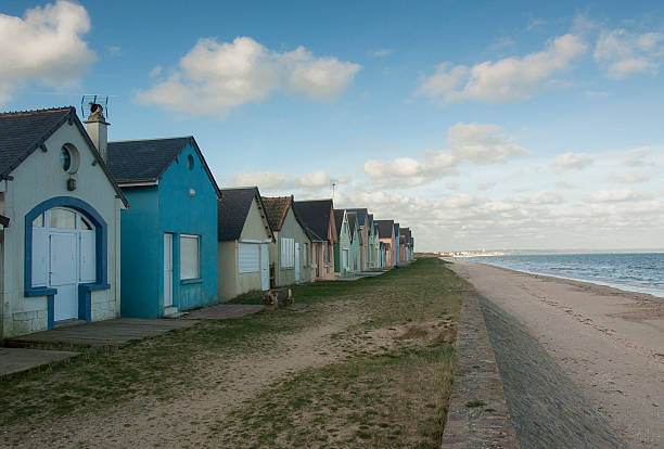 cabanes de plage – Foto