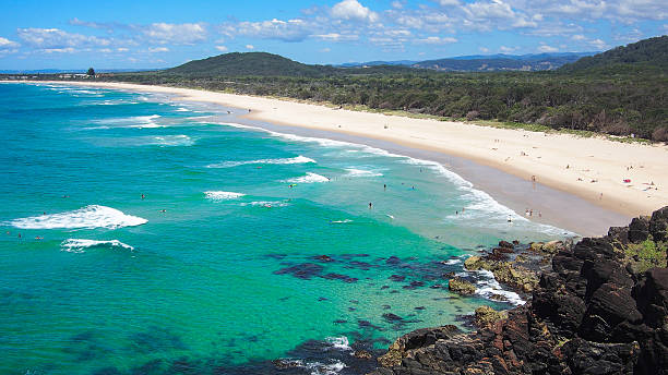 Cabarita Beach stock photo