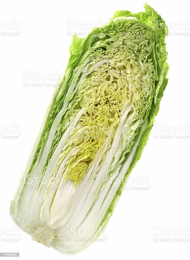 Cabbage chinese royalty-free stock photo