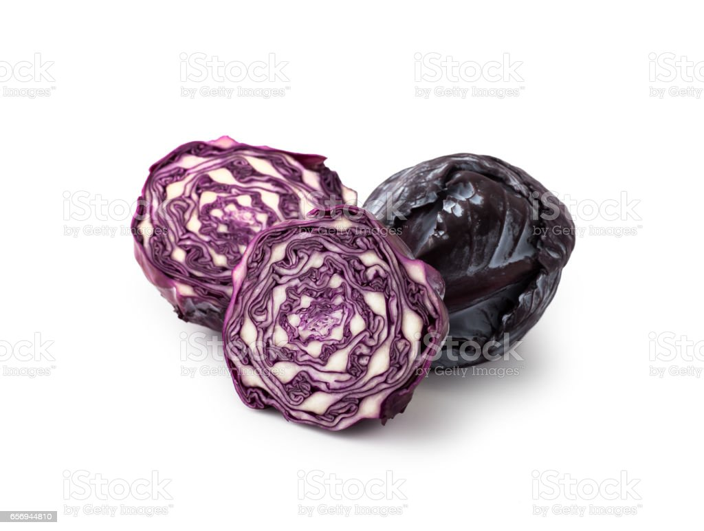 Cabbage , isolated stock photo