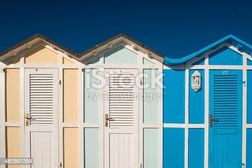 istock Cabin beach 482561254